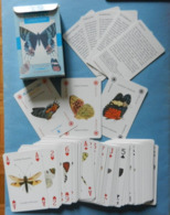 Carte Da Gioco Playing Card Farfalla Butterfly Papillon Schmetterfling Mariposa Moth Insect Lo Scarabeo - Cartes à Jouer Classiques