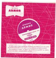 """Disque Publicitaire 7"""" Armor Carbone Isotop N°90 - 33 Tours - Plastique Souple Blanc - Rose Blanche De Corfou - San-Rémo - Formati Speciali"""