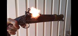 Pistolet A Silex, Poudre Noire - Militari