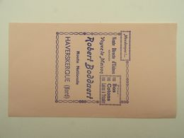 BUVARD BAS COTONS LAINES A TRICOTER ROBERT BODDAERT HAVERSKERQUE 59293 - Vestiario & Tessile