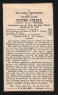 ZUSTER COLETA / LEONIA VERMEIRE - NAZARETH 1881   GENT 1954 - Overlijden