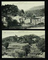 ANDORRA ANDORRE  Lot De 2 Cartes Reproduction LABOUCHE 1024 Las Escaldas 1036 Hameau De Anyos  Edit. Numérotée   SUP. - Andorra