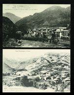 ANDORRA ANDORRE  Lot De 2 Cartes Reproduction LABOUCHE 1048 & 1037 St Julia Et Aldosa Edit. Numérotée   SUP. - Andorra