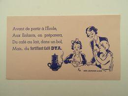 BUVARD DYA FORTIFIANT CAFE DELEPLANCQUE LA BASSEE - Café & Thé