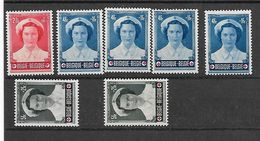 België Betere Zegels Zonder Gom  Uit Reeks 912/917 - Belgique