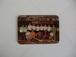 Hockey Hoquei Em Patins Sporting Clube De Tomar Juvenis Portugal Portuguese Pocket Calendar 1992 - Calendari