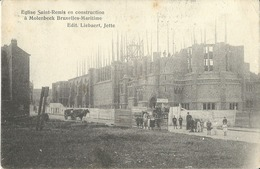 Molenbeek  Eglise Saint-Remi En Construction - Molenbeek-St-Jean - St-Jans-Molenbeek
