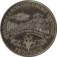 2017 MDP190 - VAISON-LA-ROMAINE 4 - Mont Ventoux Provence (Côte Du Rhone Villages) / MONNAIE DE PARIS - 2017