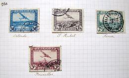 MP. TiCl3. 6. Série  De 4 Timbres PA 1 à PA 4. 1930. Oblitéré. - Airmail
