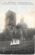 Montaigu NA17: Vue Latérale De L'Eglise 1909 - Scherpenheuvel-Zichem