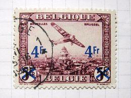 MP. TiCl3. 6a.  PA 7 Surchargé 4F. 1930. Oblitéré. - Airmail