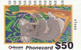 "Australia, G952015a, Generic-Koala - 1995 (New Logo - ""Non Refundable""), 2 Scans. - Australie"