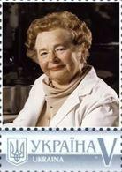 Ukraine 2019, World Medicine, Gertrude Belle Elion, 1v - Ukraine