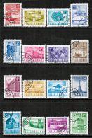ROMANIA  Scott # 2269-84 VF USED (Stamp Scan # 684) - 1948-.... Republiken