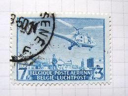 MP. TiCl3. 8. Circuit Postal Par Hélicoptère  PA 25. 1949. - Airmail