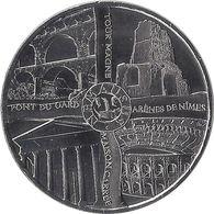 2015 MDP389 - NIMES - Les 4 Monuments (Argent) / MONNAIE DE PARIS - Monnaie De Paris