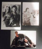 """5 Photos Exploitation Cinema """"Mad Max"""" Plus 2 Photographies Et 3 Cartes Postales Mel Gibson (port Compris Suivi) - Fotos"""