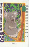 Australia, G930145a, Tourist-Koala (New Logo), 2 Scans. - Australie