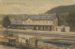 Malmédy  La Gare - Malmedy
