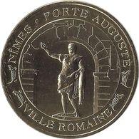 2015 MDP385 - NIMES - La Porte Auguste (Or) / MONNAIE DE PARIS - Monnaie De Paris