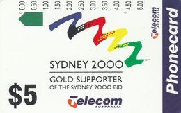 Australia, N930312, Sydney 2000 Olympic Bid, 2 Scans. - Australie