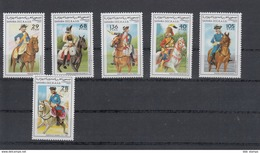 Sahara RSAD Michel Cat.No. Mnh/** Issued 1997  Set Cavalery - Stamps