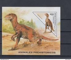 Sahara RSAD Michel Cat.No. Mnh/** Issued 1997  Sheet Dinos - Stamps