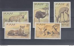 Sahara RSAD Michel Cat.No. Mnh/** Issued 1980 Wildlife - Stamps