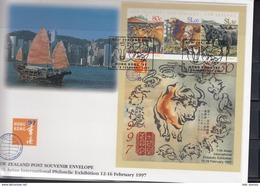 Neuseeland Michel Cat.No. FDC Sheet 66 - FDC