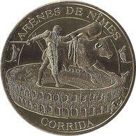 2015 MDP386 - NIMES - La Corrida (Or) / MONNAIE DE PARIS - Monnaie De Paris