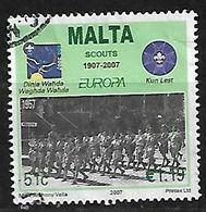 MALTA 2007 EUROPA SCOUTS CENTENARY 51c - Europa-CEPT