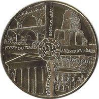 2015 MDP384 - NIMES - Les 4 Monuments (Or) / MONNAIE DE PARIS - Monnaie De Paris