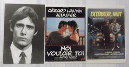 Lot De 23 Photos Exploitation Cinema: Gérard Lanvin Plus 3 Cartes Postales Et 2 Photos (prix Port Compris). - Fotos