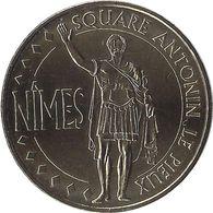 2011 MDP397 - NIMES - Square Antonin Le Pieux / MONNAIE DE PARIS - Monnaie De Paris
