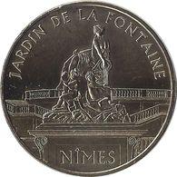 2011 MDP396 - NIMES - Les Jardins De La Fontaine / MONNAIE DE PARIS - Monnaie De Paris