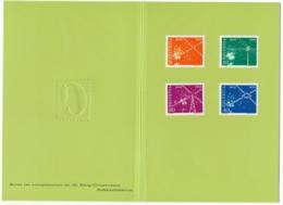 Zumstein  309-312 / Michel 566-569 In Courvoisier Vorlage Geschenkshef - Selten, Kaum Zu Finden - Unclassified