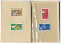 Zumstein  320-323 / Michel 607-610 In Courvoisier Vorlage Geschenkshef - Selten, Kaum Zu Finden - Unclassified