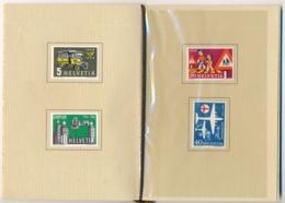 Zumstein  324-327 / Michel 623-626 In Courvoisier Vorlage Geschenkshef - Selten, Kaum Zu Finden - Unclassified