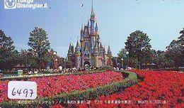 Télécarte Japon * DISNEY * 110-011 * TOKYO DISNEYLAND (6497)  Japan PHONECARD * TELEFONKARTE - Disney