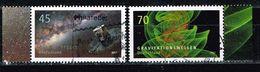 Bund 2017, Michel# 3347 - 3348 O  Astrophysik - Used Stamps