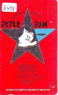 Télécarte Japon * 110-011 - DISNEY -  PETER PAN  (6498) Japan * CINEMA * Phonecard * Telefonkarte - Disney