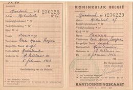 Rantsoeneringskaart Meerdonk WO II - Sint-Gillis-Waas