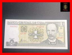 CUBA  1 Peso  2008  P. 128  UNC - Kuba