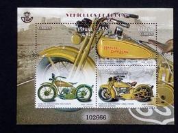 SPANIEN BLOCK 258 POSTFRISCH(MINT) MOTORRÄDER (III) 2014 HARLEY-DAVIDSON - Motos