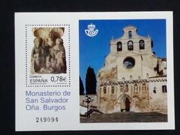 SPANIEN BLOCK 203 POSTFRISCH(MINT) 100 JAHRE SAN-SALVADOR-KLOSTER 2010 - Blocs & Feuillets