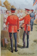 Royal Dublin Fusilers , Presenting Athletic Prizes , 40-60s ; Ireland - Uniformes