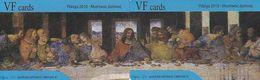 GREECE - The Last Supper, Painting/Leonardo Da Vinci, Puzzle Of 2 VF Prepaid Cards, Tirage 50, Sample - Puzzles