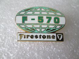 PIN'S   FIRESTONE  F  570  Zamak - Pin's & Anstecknadeln