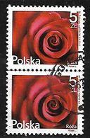 POLAND 2015 ROSE PAIR - 1944-.... Republic