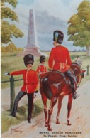 Royal Dublin Fusilers , In Phoenix Park , Dublin , 40-60s ; Ireland - Uniformes